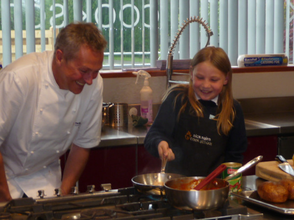Martha Payne at Nick Nairn's Cook School